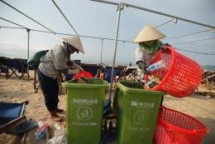 ocean plastics turned into an opportunity in circular economy project launched vietnam