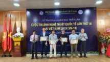 winners of international art photography contest honoured