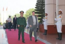 defence minister attends admm retreat admm plus in thailand
