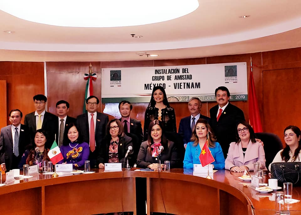Mexico's lower house sets up friendship parliamentary group with Vietnam