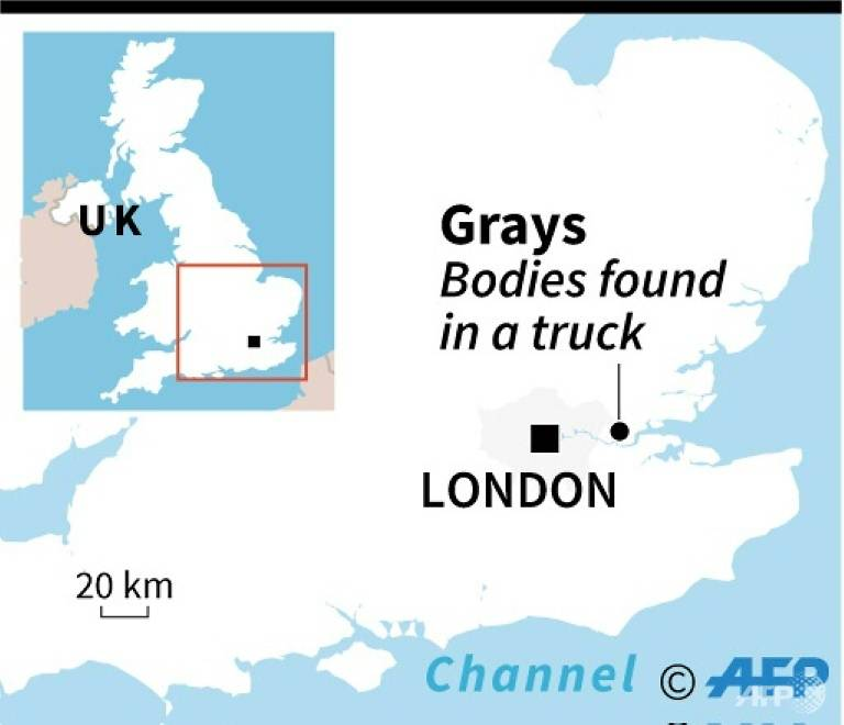 39 bodies found in truck: UK police investigates people-smuggling ring