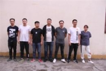 seven chinese involved in online gambling handed over to china