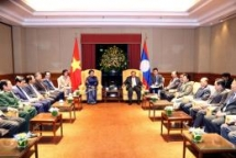 NA Chairwoman meets Lao leader