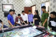 bac ninh 24 chinese nationals arrested for running gambling dens