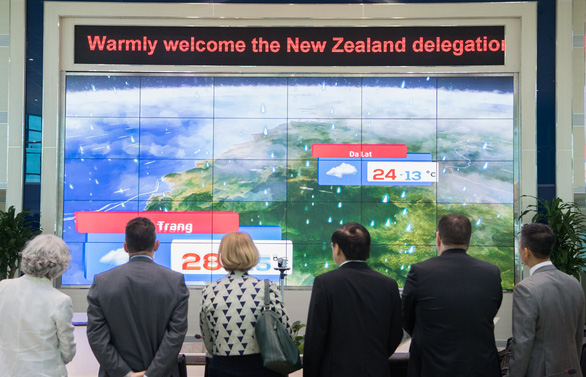 Vietnam, New Zealand sign MoU on providing weather - related data