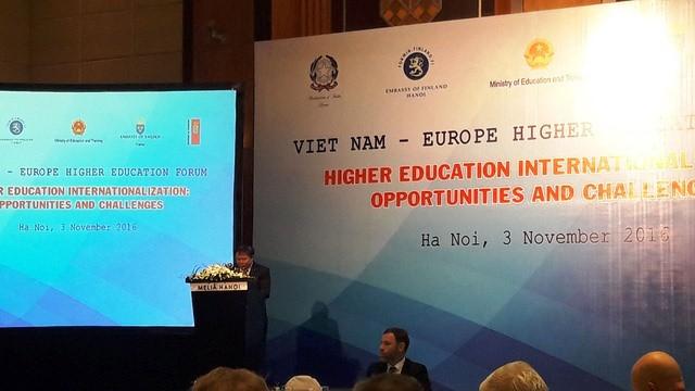 vietnam eu seek closer higher education cooperation