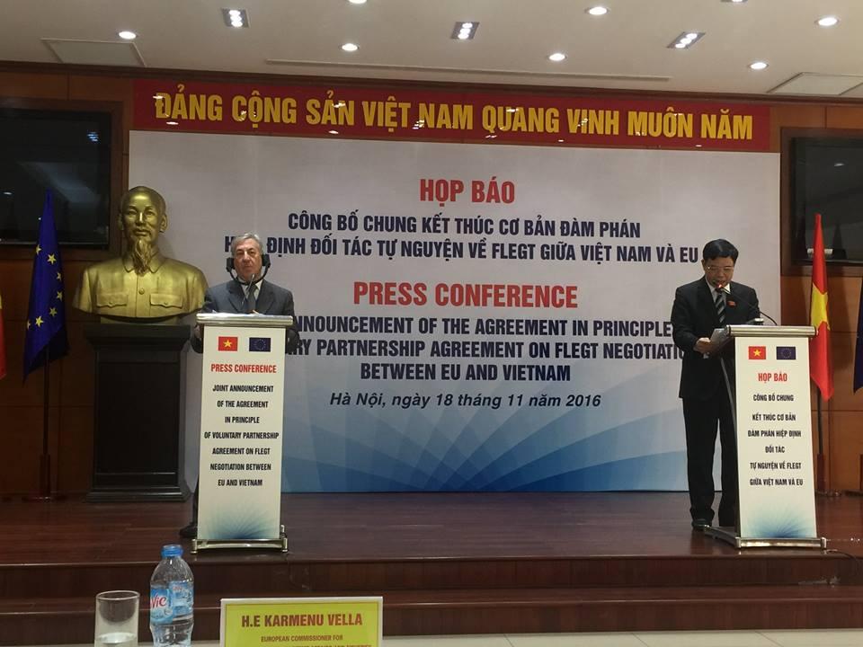 EU, Vietnam move to ban illegal timber trade
