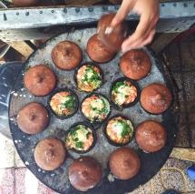 delicious nha trang rice cake with quail eggs