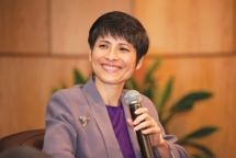 Vietnamese - American female engineer as first woman and Asian elected Texas Instruments Senior Fellow