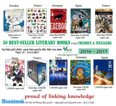 50 interesting books to be introduced at Hanoi Book Street