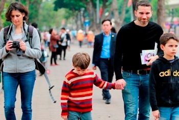 Hanoi expect welcomes five million foreign visitors in 2017