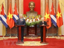 vietnam cuba resolved to work for sustainable cooperation