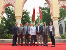 morocco gate renovated to strengthen vietnam morocco friendship
