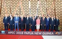pm begins activities at apec economic leaders week