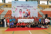 edelweiss air sends support to the first ever appreciation day for teachers of children with autism in vietnam