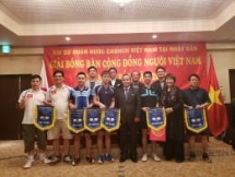 first table tennis tournament for vietnamese community in japan