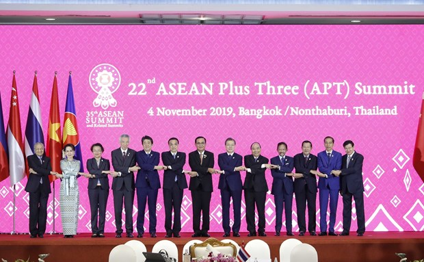 asean plus three summit japans pm vows to double investment to asean
