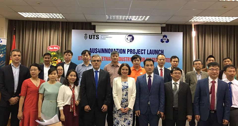 Aus4Innovation programme's winner kicked-off to address water polution challenges