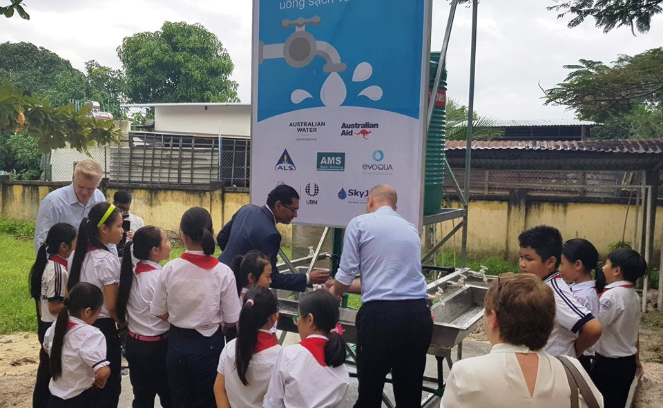 australian technology provides low cost clean water in khanh hoa