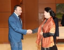 na leader praises traditional friendship with armenia