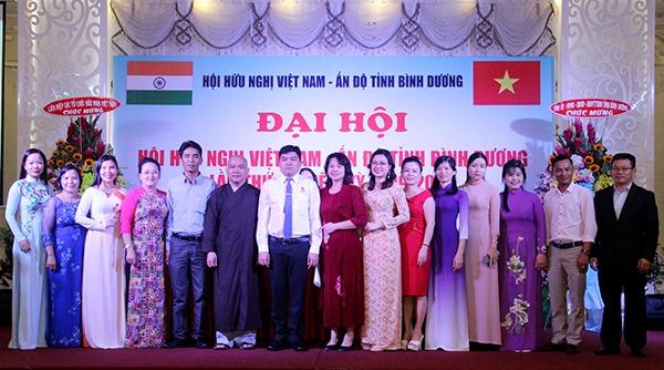 Vietnam - India Friendship Association of Binh Duong established