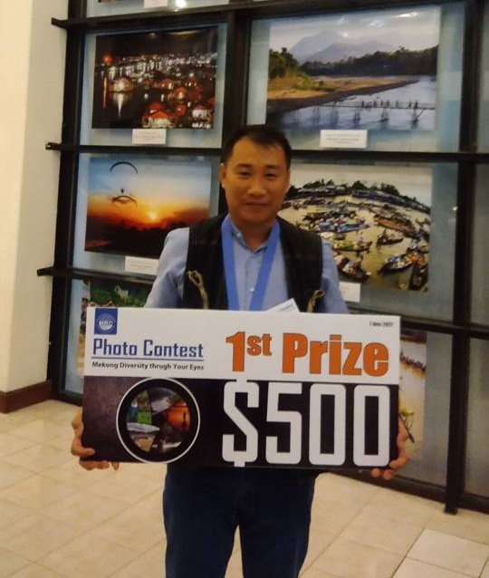 Vietnamese contestant wins first prize of