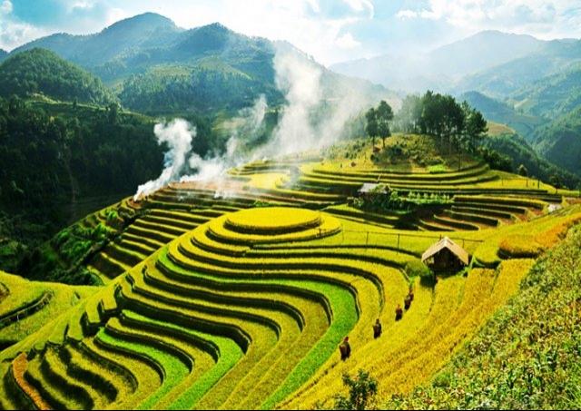 Mu Cang Chai among world's 19 most beautiful mountains