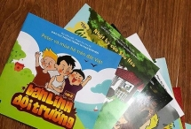 comic books raise childrens awareness of uxo accidents