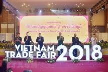 vn cambodian trade fair in dak nong