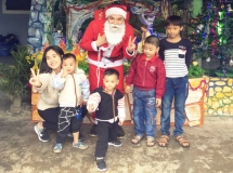 christmas is time for charity among young vietnamese