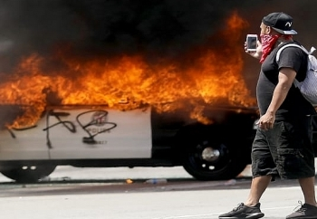 george floyd death more than 12 cities defied curfews in us