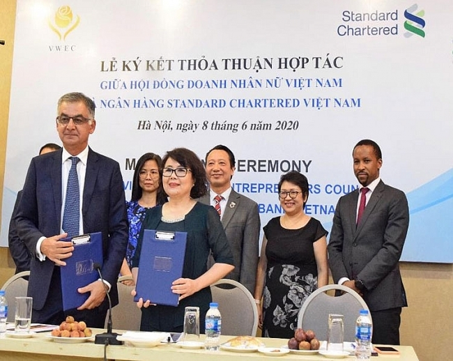 Standard Chartered Vietnam supports women-owned businesses