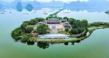 tam chuc pagoda the largest complex beckons tourists and buddhist pilgrims