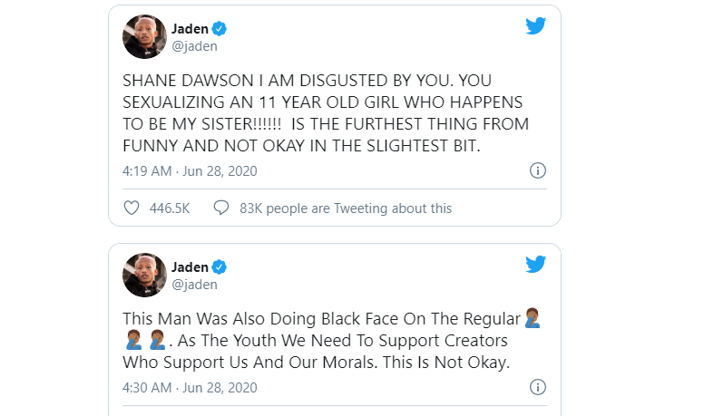 shane dawn apologizes for his racism i thought it was funny