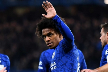 willian confirms chelsea exit as arsenal near signing of the winger on free tranfer